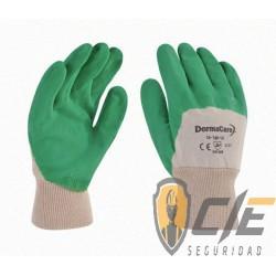 56-340 GUANTE LATEX VERDE C/FORRO P/CAL