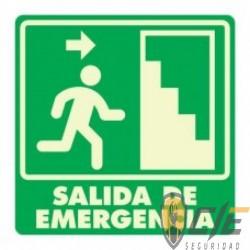 SEÑAL MODELO 003 SALIDA DE EMERGENCIA ESCALERA DERECHA