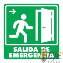 SEÑAL MODELO 005 SALIDA DE EMERGENCIA PUERTA DERECHA