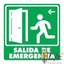 SEÑAL MODELO 006 SALIDA DE EMERGENCIA PUERTA IZQUIERDA