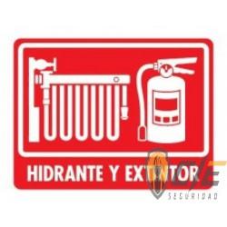 SEÑAL MODELO 035 HIDRANTE Y EXTINTOR
