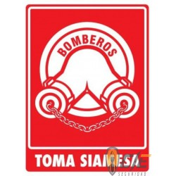 SEÑAL MODELO 036 TOMA SIAMESA