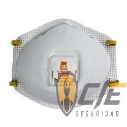 Respirador desechable para partículas N95, 8511