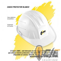 Casco cabel con ajuste de matraca